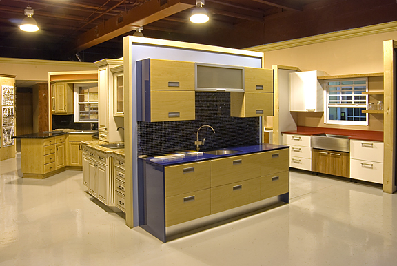 Visiting the Kitchen Showrooms